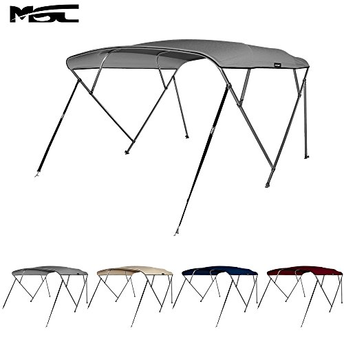 Msc 174 4 Bow Bimini Boat Top Cover With Rear Support Pole